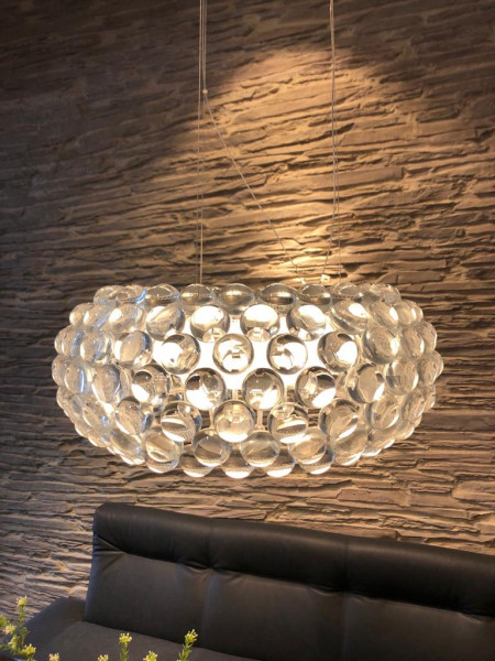 Foscarini Pendelleuchten Caboche media LED