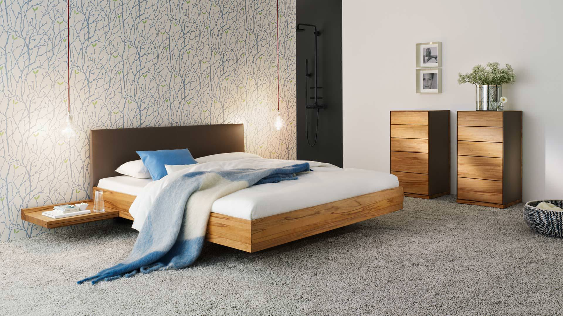 schlafzimmerm bel kaufen team7 betten und schrank systeme. Black Bedroom Furniture Sets. Home Design Ideas